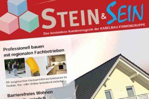 """Kundenmagazin """"STEIN & SEIN"""" online verfügbar"""