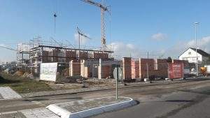 Neubau von 14 Wohnungen mit Tiefgarage in Hainhausen