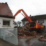 Ein Haus entsteht