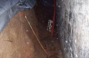 Kellersanierung in Volkersbrunn