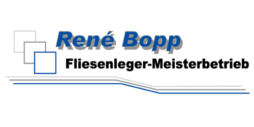 Fliesenlegermeister Rene Bopp