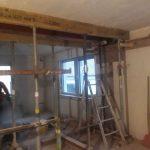 Umbau- und Abdichtungsarbeiten